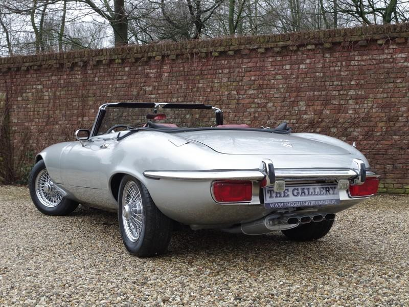 Jaguar E-type series 3 V12 convertible manual gearbox, with factory AC (1973) #26