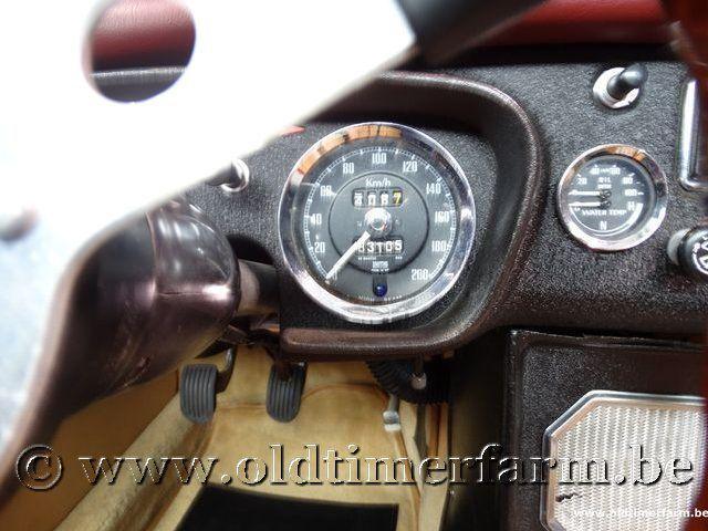 MG B Roadster Red '67 #153