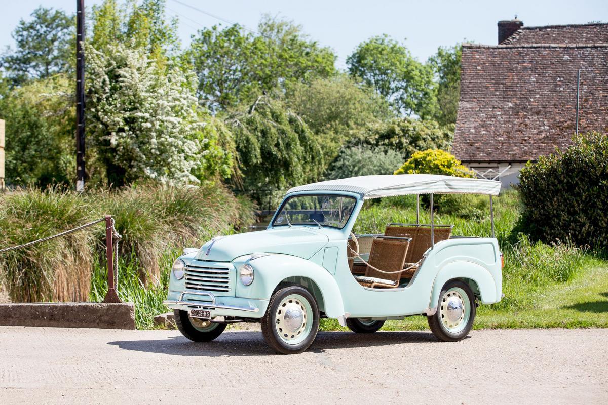 Fiat 500 C Belvedere Spiaggina 1954 For Sale