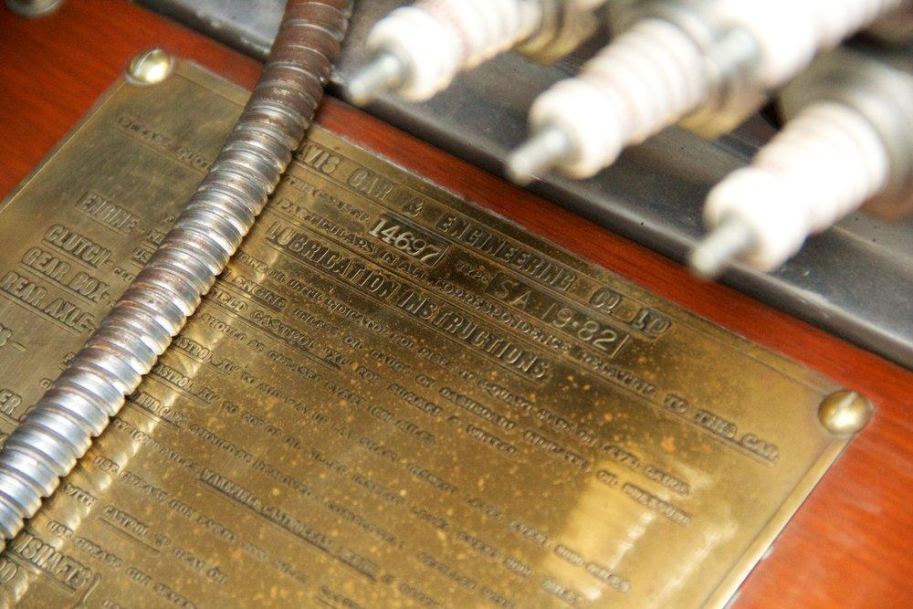 1932 Alvis Speed 20 SA 4-Door Tourer by Cross & Ellis #20