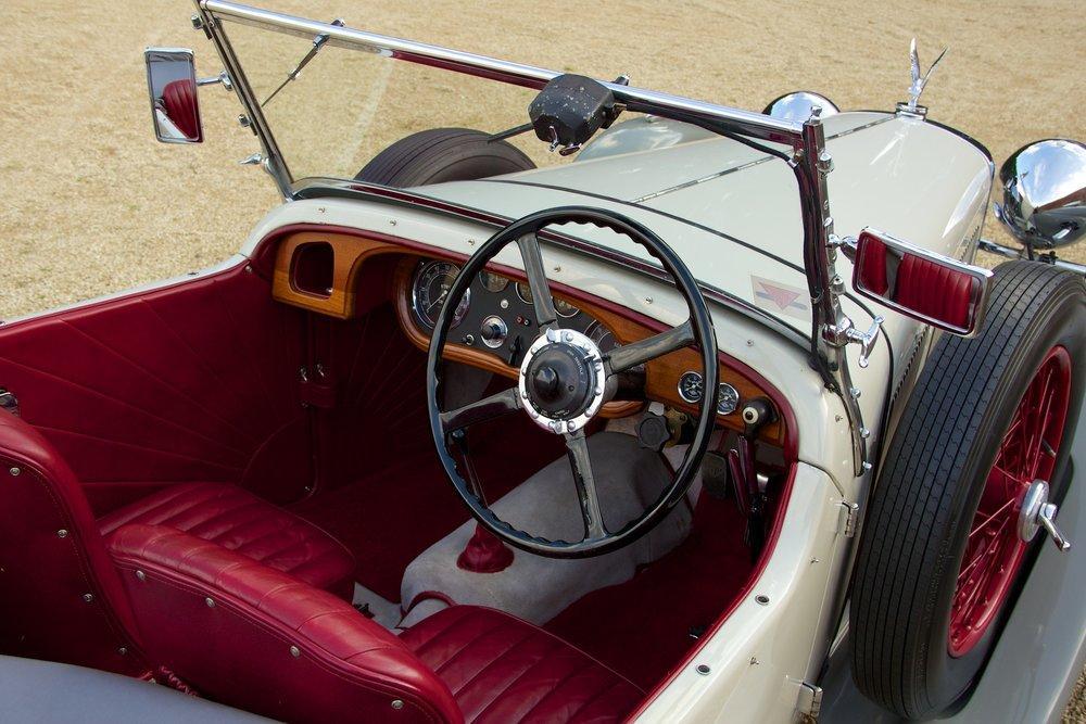 1932 Alvis Speed 20 SA 4-Door Tourer by Cross & Ellis #8