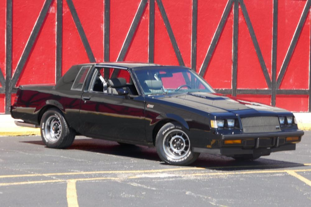 1987 Buick Grand National -AFFORDABLE ONE OWNER WITH T TOPS-SEE VIDEO Stock # 87381JP for sale near Mundelein, IL | IL Buick Dealer #2