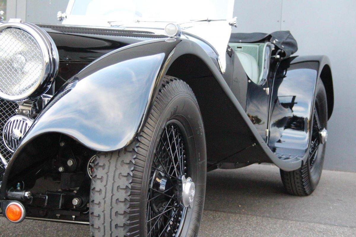 Jaguar SS 100 2,5 litre #18