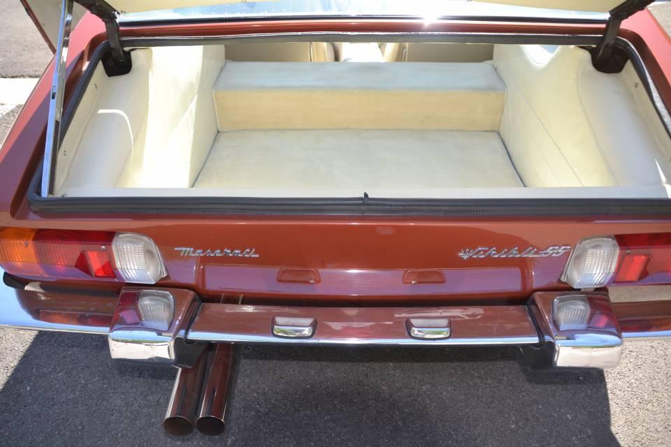 1972 MASERATI Ghibli 4.9L SS Coupe #9
