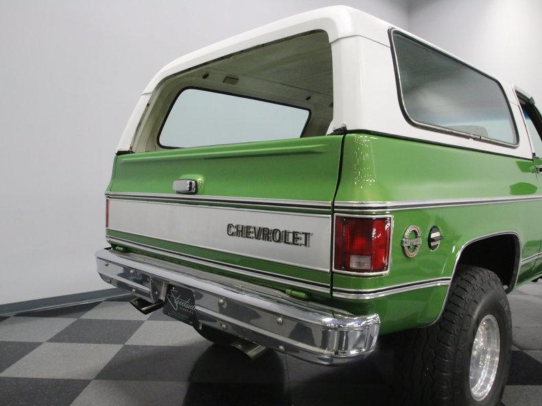 1975 Chevrolet Blazer K5 #30