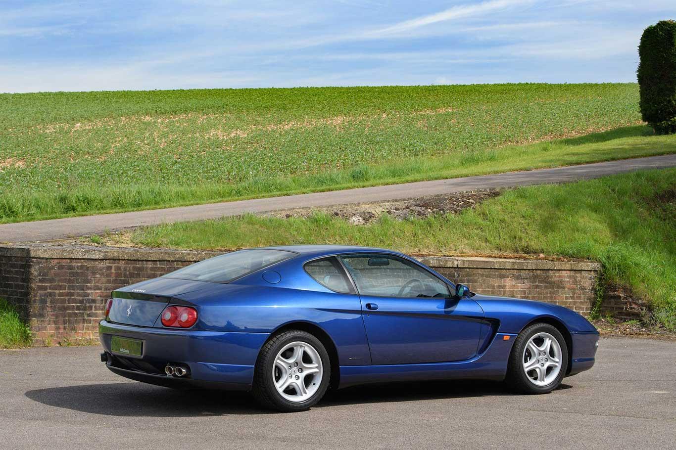 2003 Ferrari 456M GTA RHD #15