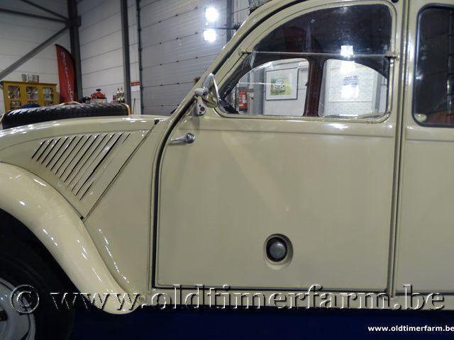 Citroën 2CV 4x4 Sahara '62 #27