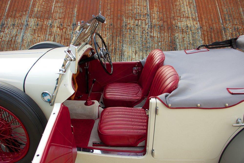 1932 Alvis Speed 20 SA 4-Door Tourer by Cross & Ellis #9