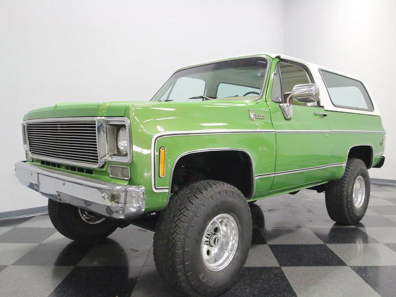 1975 Chevrolet Blazer K5 #7