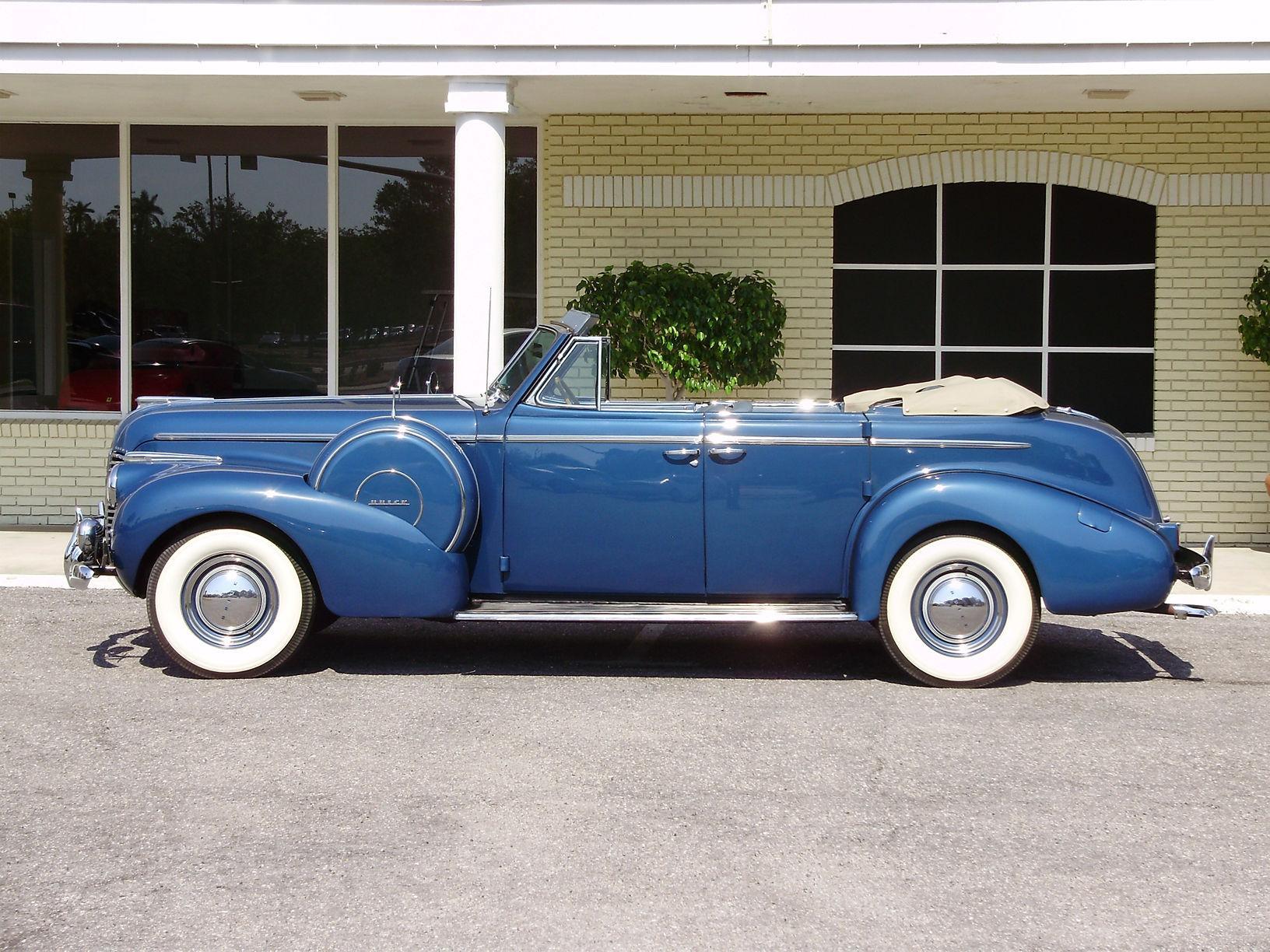 1940 BUICK CENTURY CONVERTIBLE SEDAN - Vintage Motors of Sarasota Inc. #3