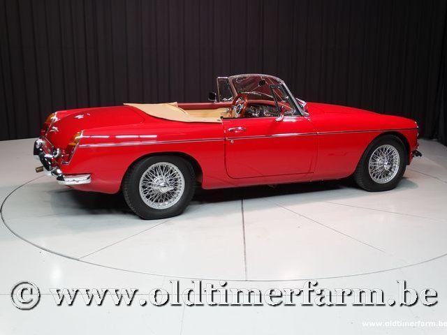 MG B Roadster Red '67 #35