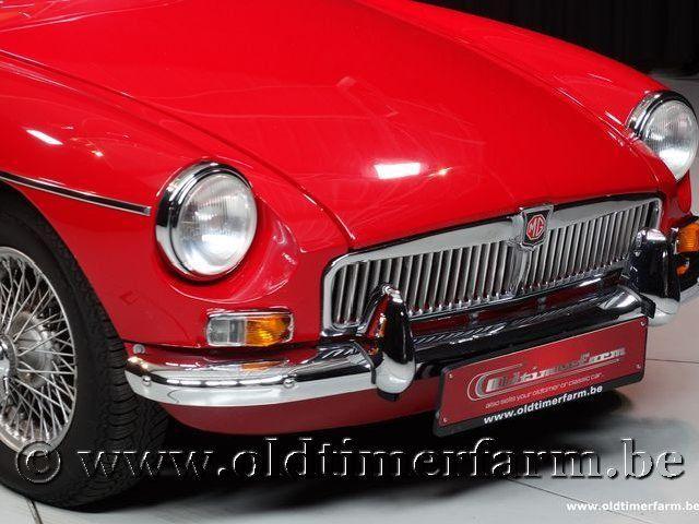 MG B Roadster Red '67 #109