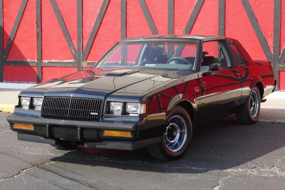 1987 Buick Grand National -ONE OWNER WITH 44k MILES -T-TOPS- SEE VIDEO Stock # 3887JC for sale near Mundelein, IL | IL Buick Dealer #0