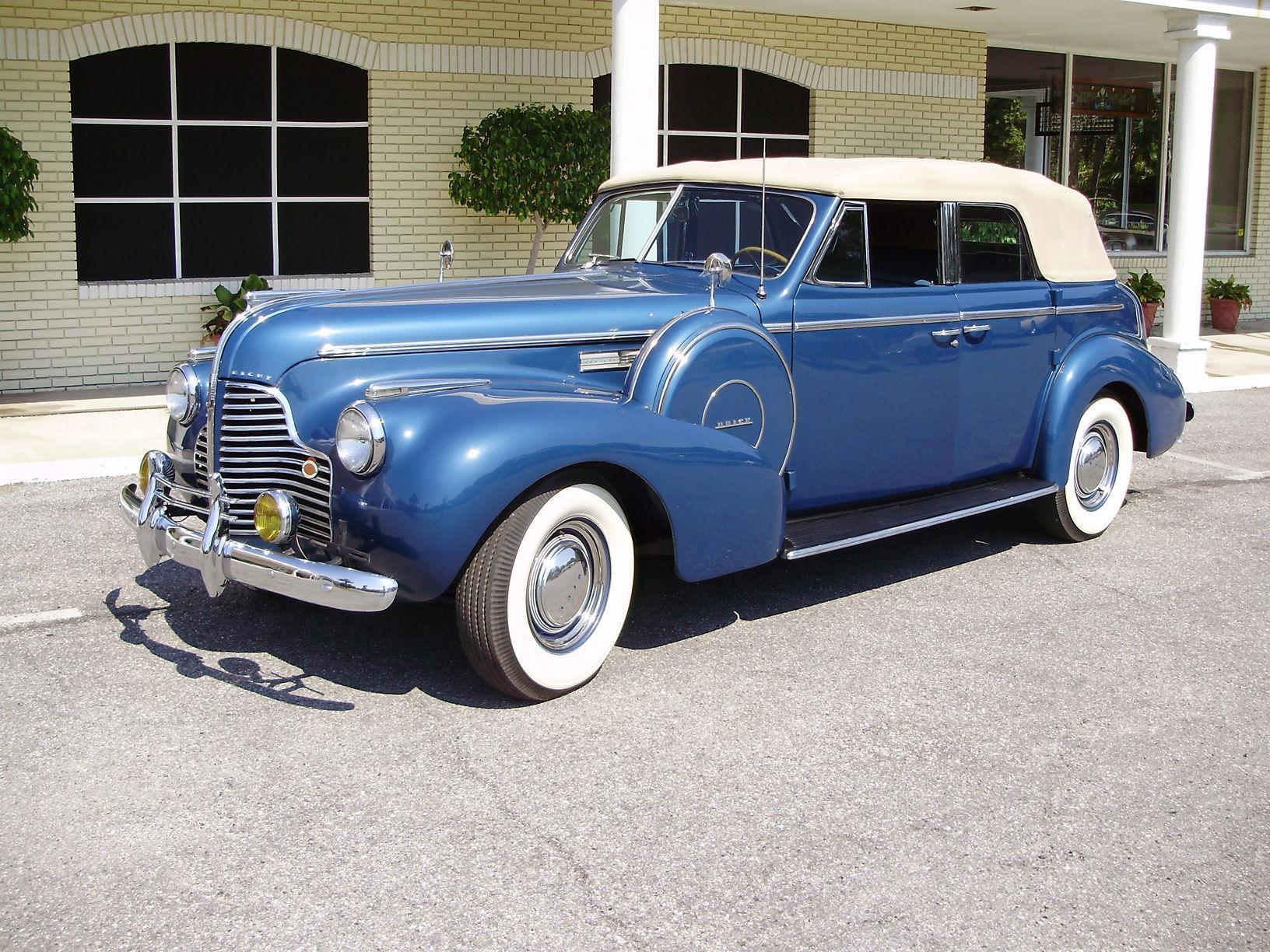 1940 BUICK CENTURY CONVERTIBLE SEDAN - Vintage Motors of Sarasota Inc. #13