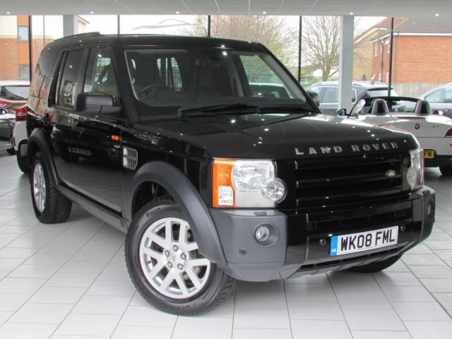 2008 08 LAND ROVER DISCOVERY 2.7 3 COMMERCIAL XS 1d AUTO 188 BHP #0