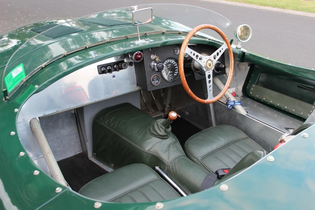 """Jaguar """"C"""" Type replica #6"""