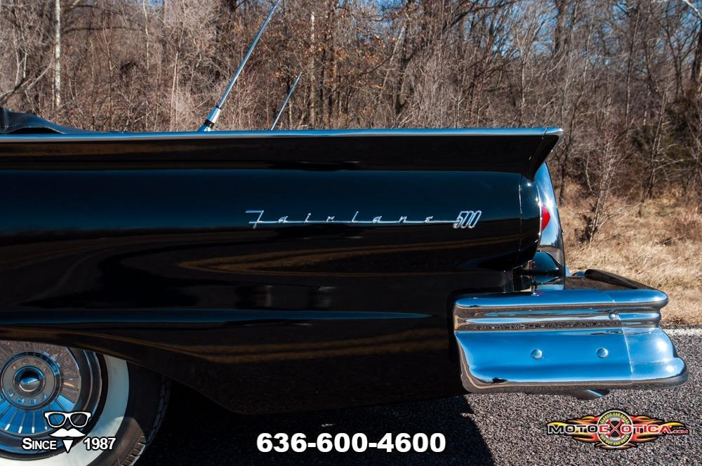 1957 Ford Fairlane 500 Sunliner Restomod #46