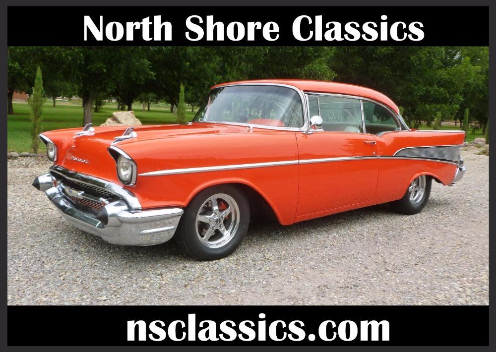 1957 Chevrolet Bel Air -400 HP - MSD - BUCKET SEATS- GREAT QUALITY DRIVER- Stock # 38357SAL for sale near Mundelein, IL | IL Chevrolet Dealer #0