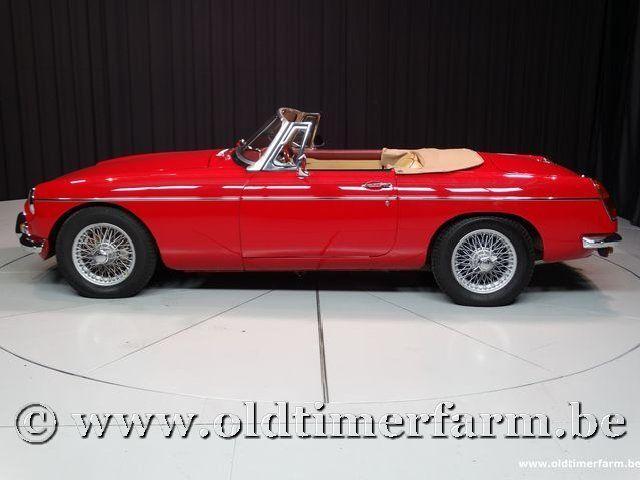 MG B Roadster Red '67 #11