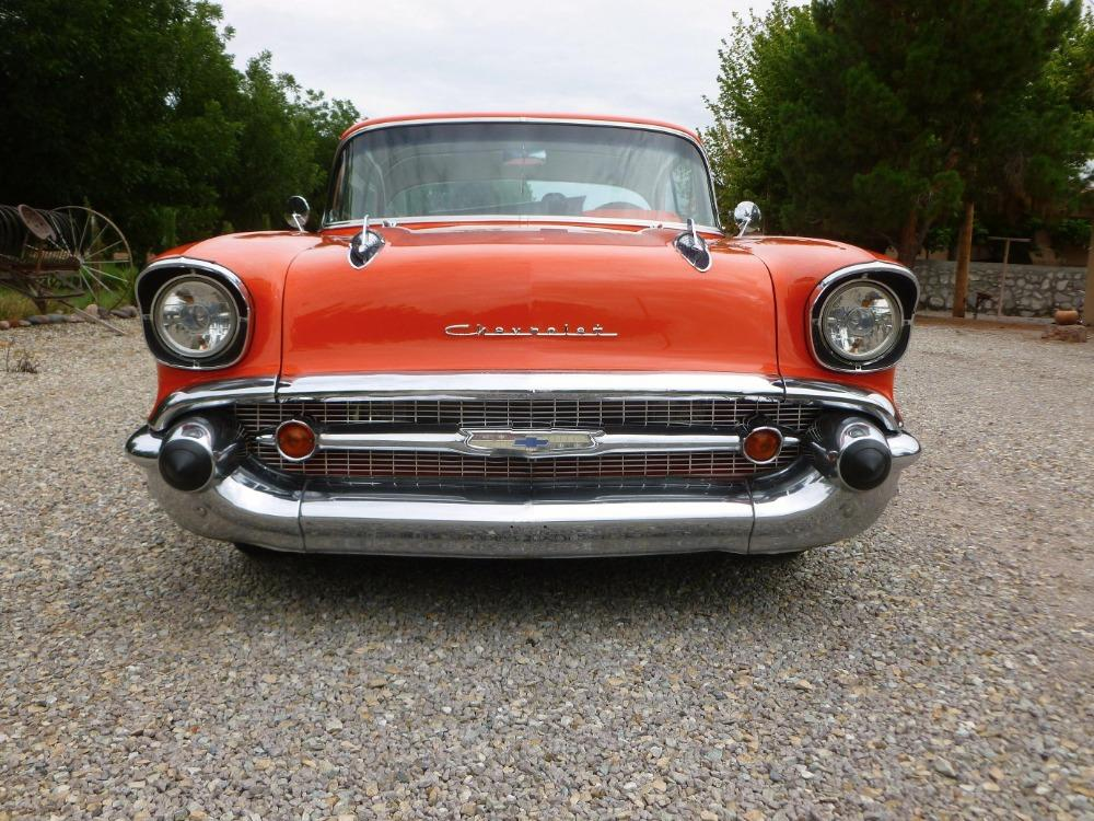 1957 Chevrolet Bel Air -400 HP - MSD - BUCKET SEATS- GREAT QUALITY DRIVER- Stock # 38357SAL for sale near Mundelein, IL | IL Chevrolet Dealer #7