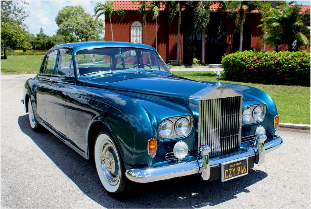 1964 ROLLS-ROYCE SILVER CLOUD III CONTINENTAL JAMES YOUNG SCV100 SPORT SEDAN #LSGT635C ONE OF 2 LEFT DRIVES BUILT #0