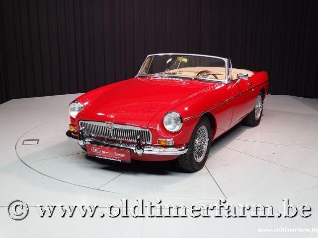 MG B Roadster Red '67 #0