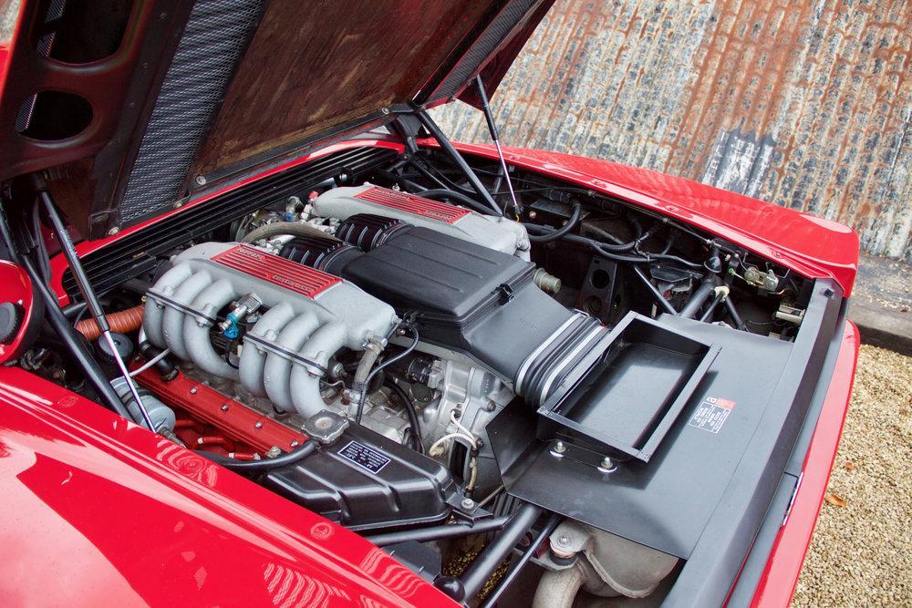 1988 Ferrari Testarossa RHD Rosso Corsa with Blu Scuro #33