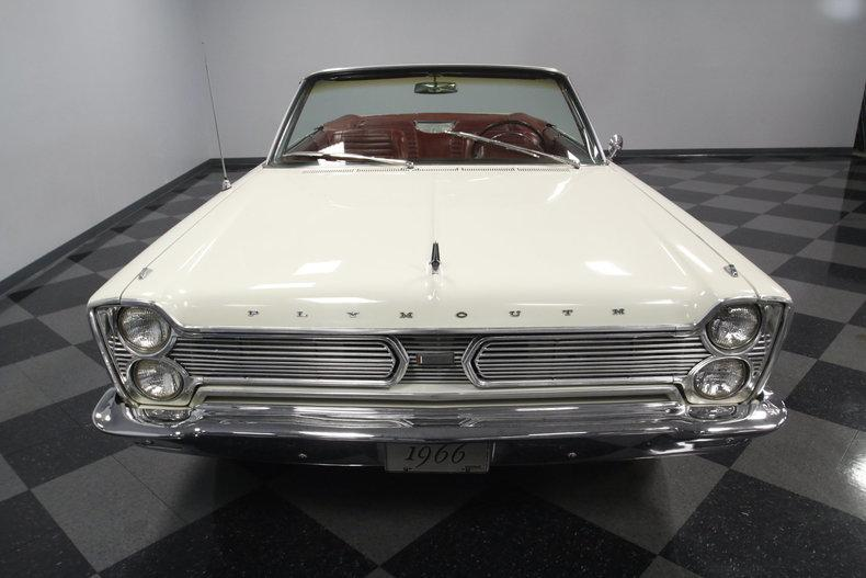 1966 Plymouth Sport Fury Convertible #5