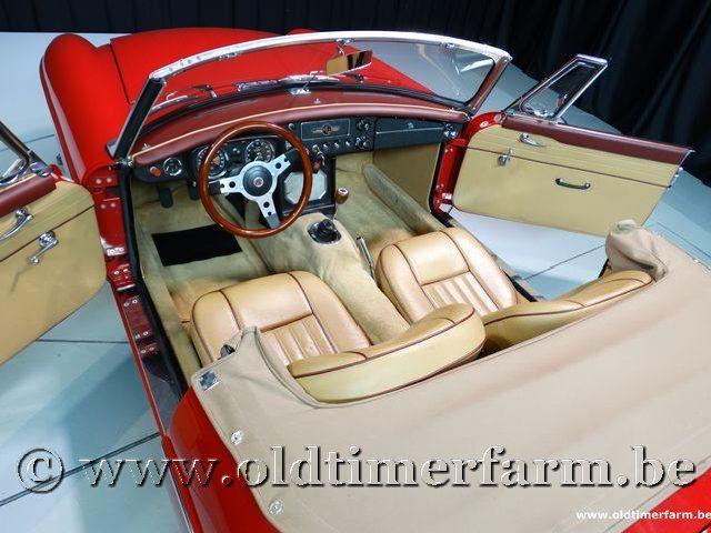 MG B Roadster Red '67 #168