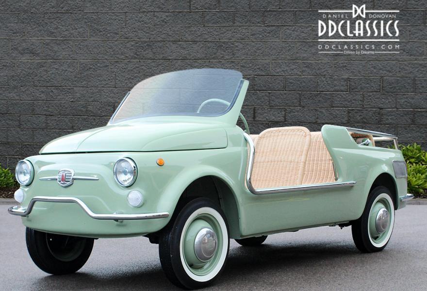 Fiat 500 Giardiniera Jolly 1962 #0