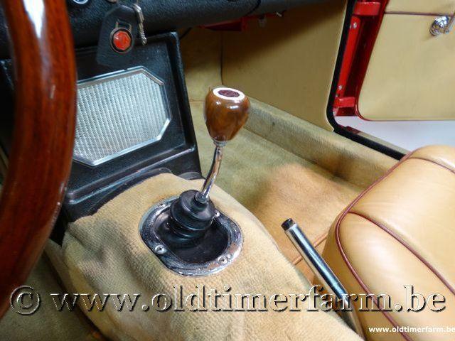 MG B Roadster Red '67 #161