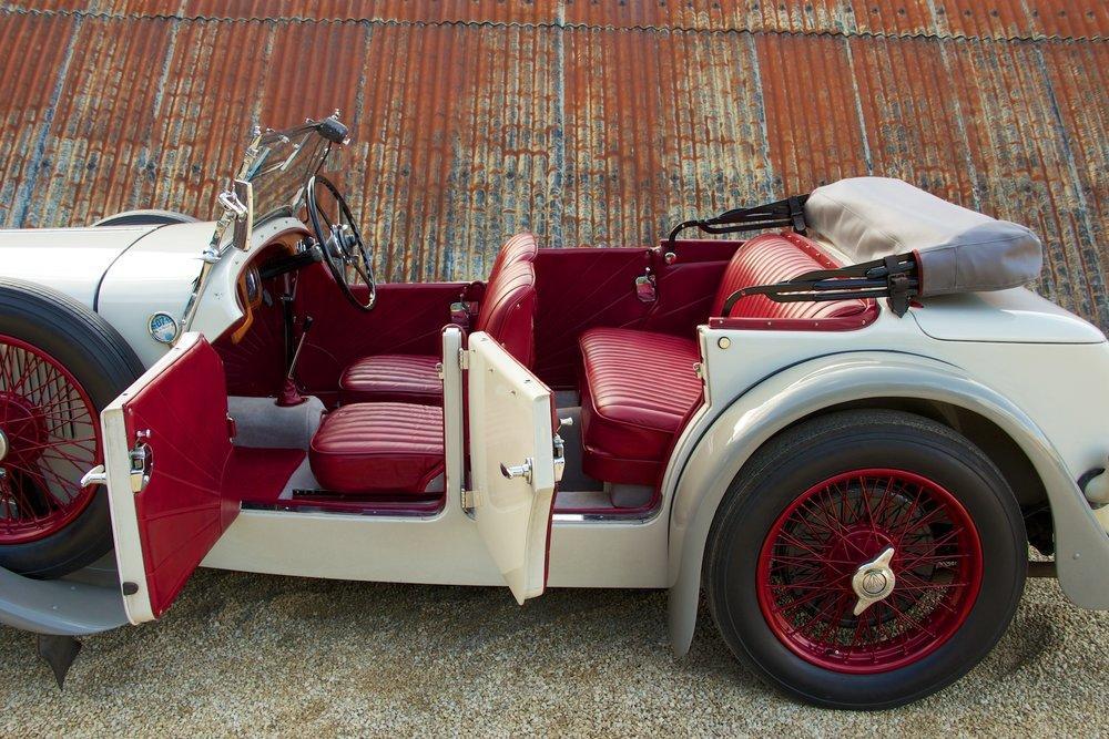 1932 Alvis Speed 20 SA 4-Door Tourer by Cross & Ellis #10