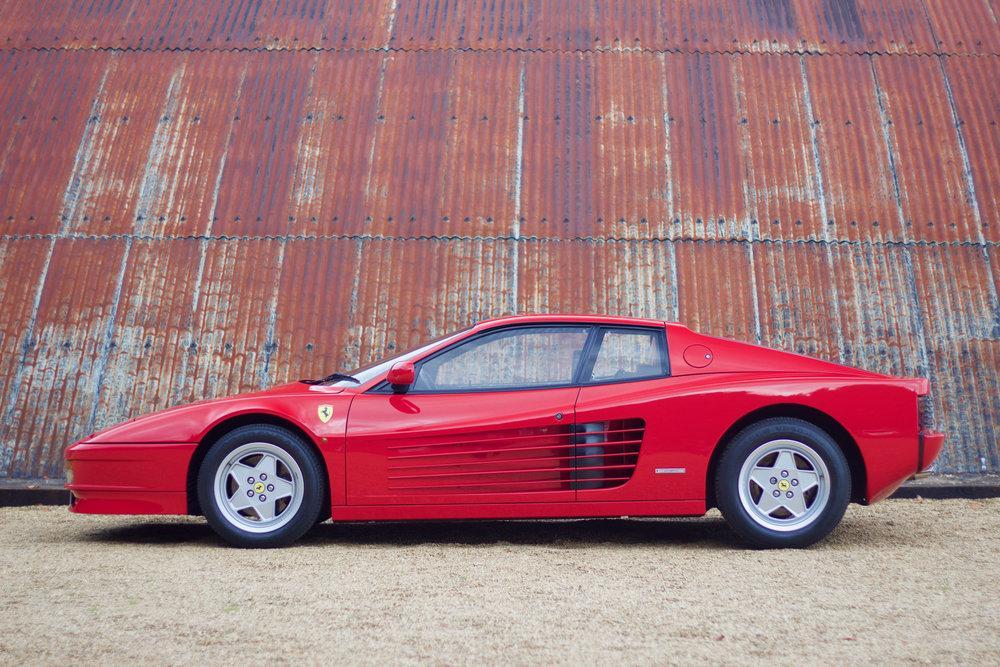 1988 Ferrari Testarossa RHD Rosso Corsa with Blu Scuro #2