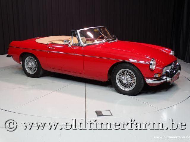 MG B Roadster Red '67 #78