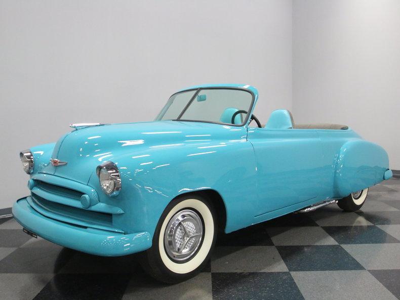1949 Chevrolet Sedan Roadster #6