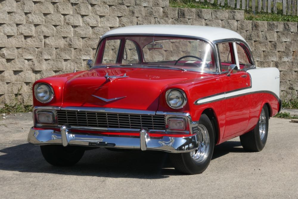 1956 Chevrolet Bel Air -RESTORED SOUTHERN BEL AIR TRI FIVE- GREAT CONDITION-SEE VIDEO Stock # 28356WAC for sale near Mundelein, IL | IL Chevrolet Dealer #1