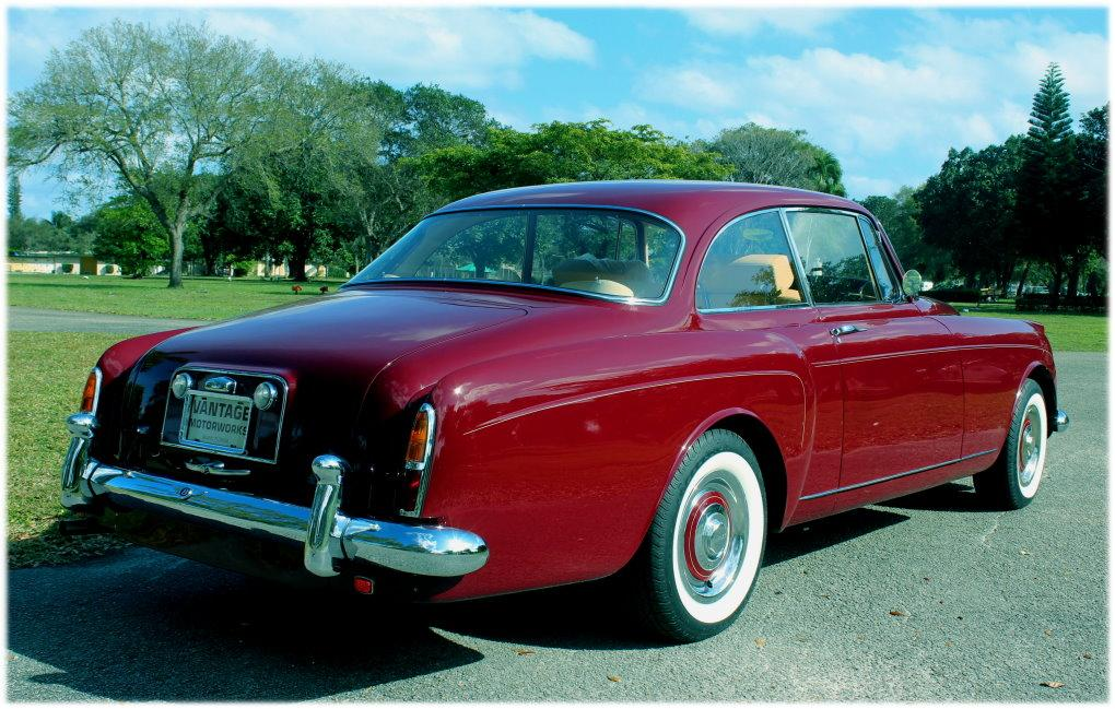 "1960 Bentley S-2 Continental H.J. Mulliner ""Spur Coupe"" #BC39LAR – 8,942 Km (Approximately 5,365 miles) since 1st restoration in 1990 #12"