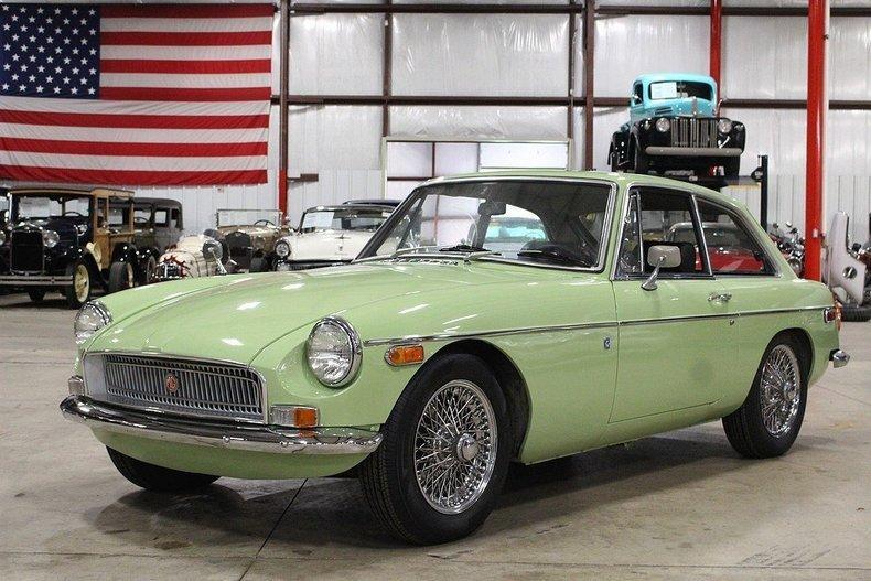 1970 MG MGB GT #0