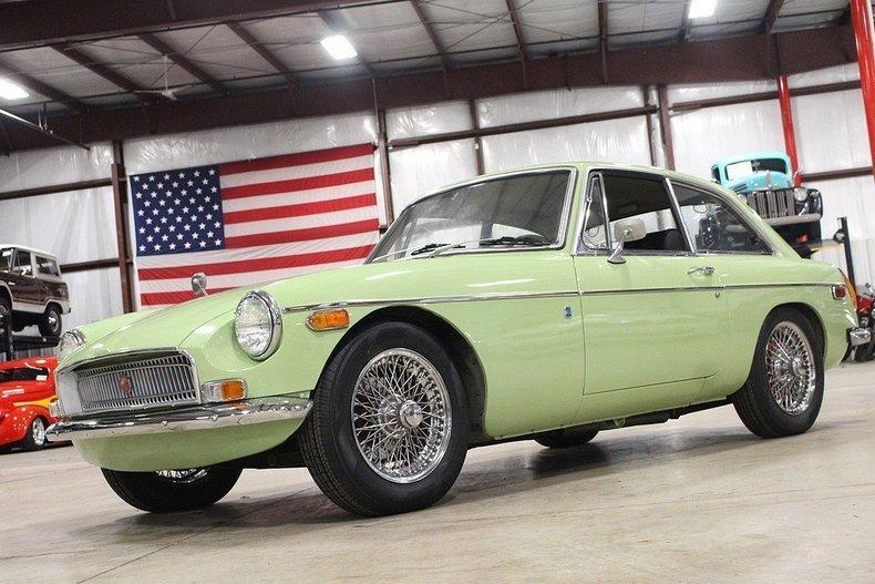 1970 MG MGB GT #87