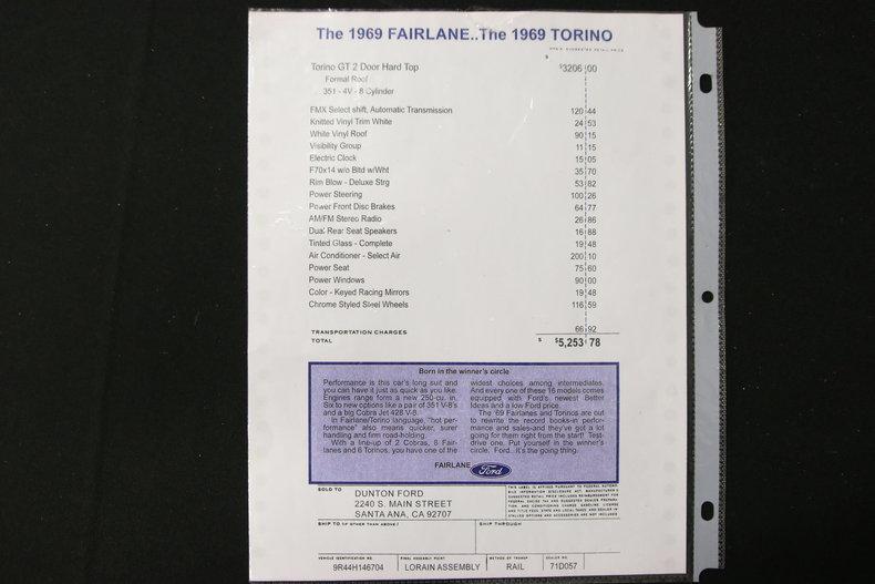 1969 Ford Torino GT #57