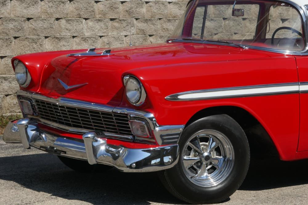 1956 Chevrolet Bel Air -RESTORED SOUTHERN BEL AIR TRI FIVE- GREAT CONDITION-SEE VIDEO Stock # 28356WAC for sale near Mundelein, IL | IL Chevrolet Dealer #3