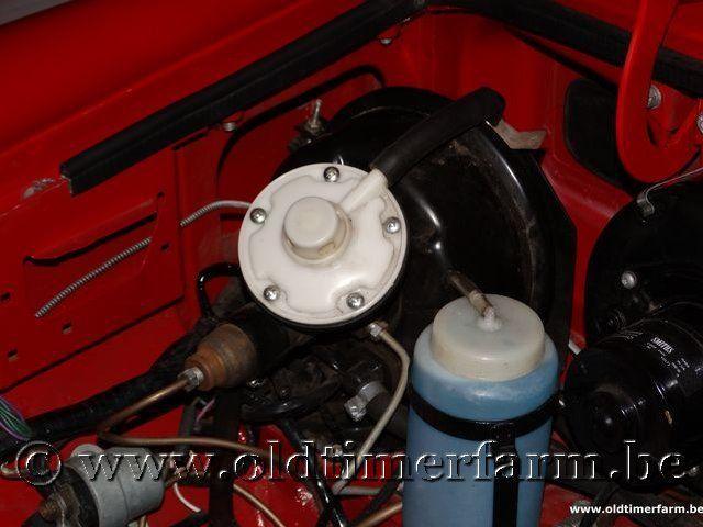 MG B Roadster Red '67 #179