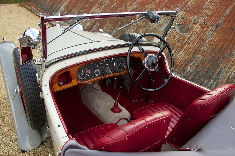 1932 Alvis Speed 20 SA 4-Door Tourer by Cross & Ellis #6