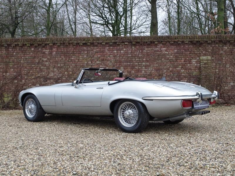 Jaguar E-type series 3 V12 convertible manual gearbox, with factory AC (1973) #48