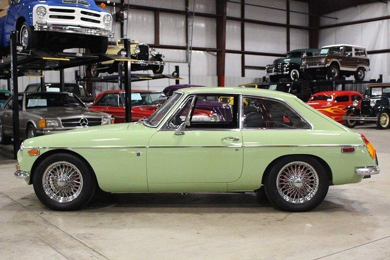 1970 MG MGB GT #1