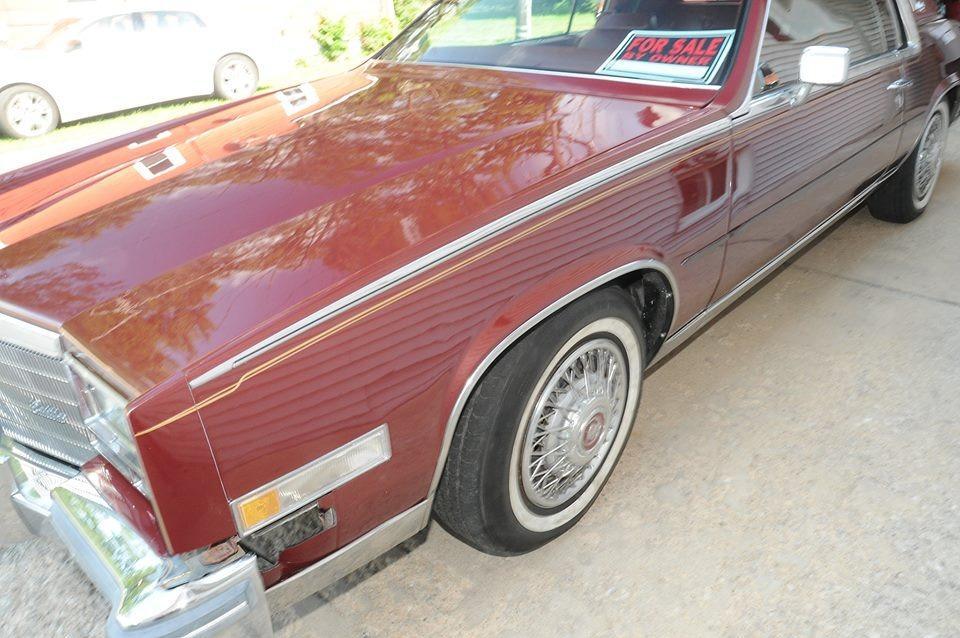 1984 Cadillac El Dorado -BIARRITZ EDITION- 48,500 ORIGINAL MILES- Stock # 841CV for sale near Mundelein, IL | IL Cadillac Dealer #1