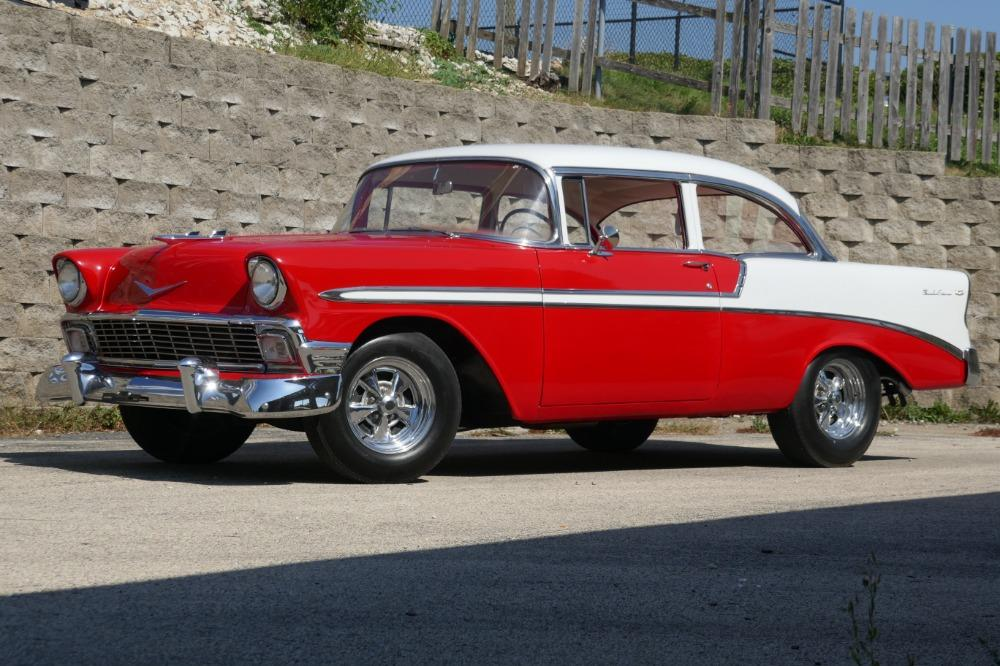 1956 Chevrolet Bel Air -RESTORED SOUTHERN BEL AIR TRI FIVE- GREAT CONDITION-SEE VIDEO Stock # 28356WAC for sale near Mundelein, IL | IL Chevrolet Dealer #2