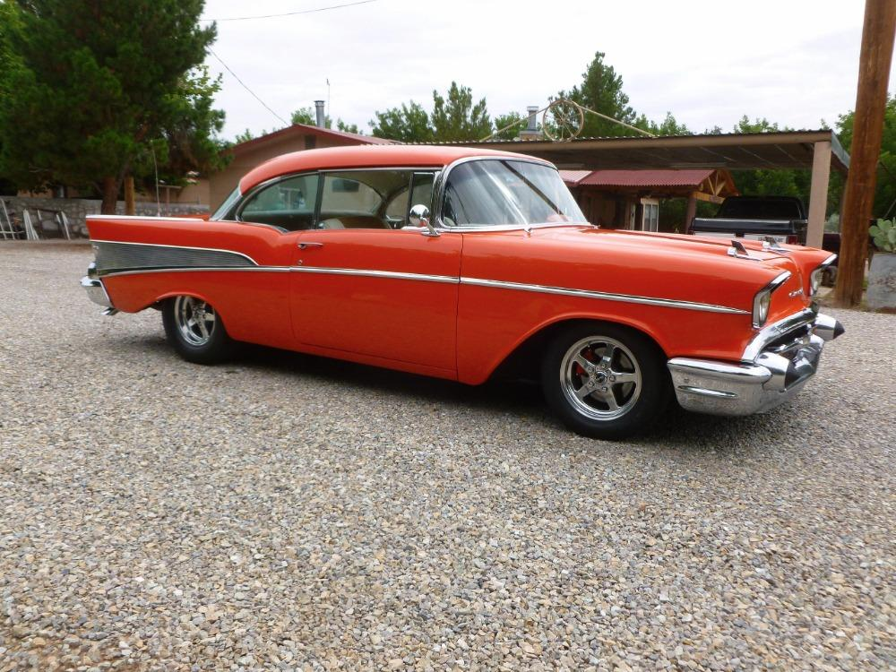 1957 Chevrolet Bel Air -400 HP - MSD - BUCKET SEATS- GREAT QUALITY DRIVER- Stock # 38357SAL for sale near Mundelein, IL | IL Chevrolet Dealer #3