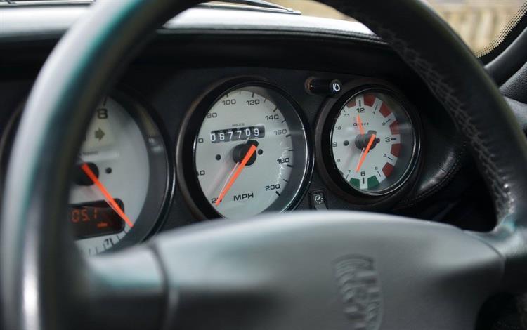 Porsche 993 Turbo #1