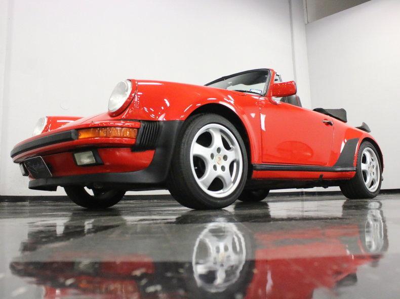 1988 Porsche 911 Turbo Cabriolet #7